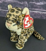 TY Beanie Baby 2000 Sneaky Leopard Spotted Cat Bean Bag Toy  - $8.90