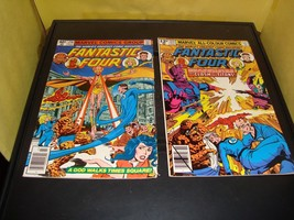 Fantastic Foour #212 & 216 Marvel Comic Book Lot Of 2 1979-80 FN Condition - $3.59