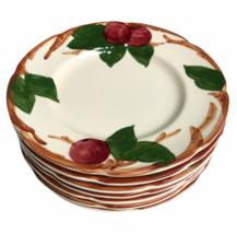 "Set of 7 Vintage Franciscan Apple Pattern Salad Plates Made In USA 8"" - $51.43"