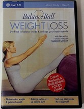 Balance Ball for Weight Loss (DVD, 2004) Suzanne Deason Gaiam 55 Minutes... - $8.99