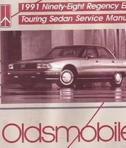 1991 Oldsmobile Ninety Eight 98 Regency Elite Touring Sedan Service Shop... - $9.89