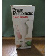 Braun Multipractic Hand Blender MR-30 With Wall Hanger & Directions IOB - $19.95