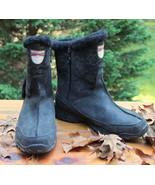 The North Face Boots Black size 10 Womens Side Zip Premaloft Insulated W... - $76.97