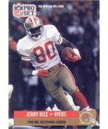 Jerry Rice ~ 1991 Pro Set #11 ~ 49ers - $0.05