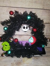 The Nightmare Before Christmas Jack Skellington Sally Wreath - $25.00