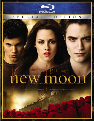 New Moon-Twilight Saga  Blu-Ray