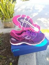 Asics Woman's Gel Nimbus 19 Black Cosmo Pink Size 8 US - $148.45