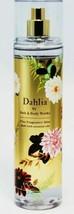 BATH & BODY WORKS DAHLIA 8 OZ FINE FRAGRANCE MIST - $15.50
