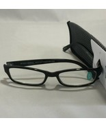 Simply Specs Foster Grant Mens Black Modern Jameson Reading Glasses w/Ca... - $6.93