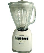 OSTERIZER 12 SPEED BLENDER WHITE 564A GLASS JAR TESTED - $19.95