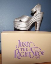 Raine Willitts Design Just The Right Shoe Silver Cloud MIB 1998 image 2