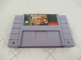 Donkey Kong Country (Super Nintendo Entertainment System, 1994) SNES Vid... - $14.80