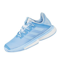 Adidas Sole Match Bounce Women's Tennis Shoes Sports Athletic Blue EE9561 - £100.35 GBP