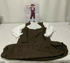 Brown Colonial Costume for Kids Medium 8-10 - $24.78