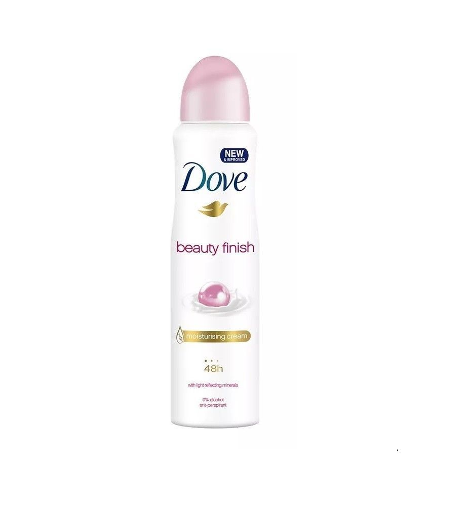 Dove Beauty Finish Spray: Dove Spray Antiperspirant Deodorant Beauty Finish (150ml/5