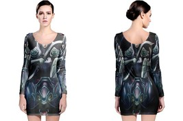 "Luna ""the Moon Rider"" Women's Long Sleeve Bodycon Dress - $25.80+"