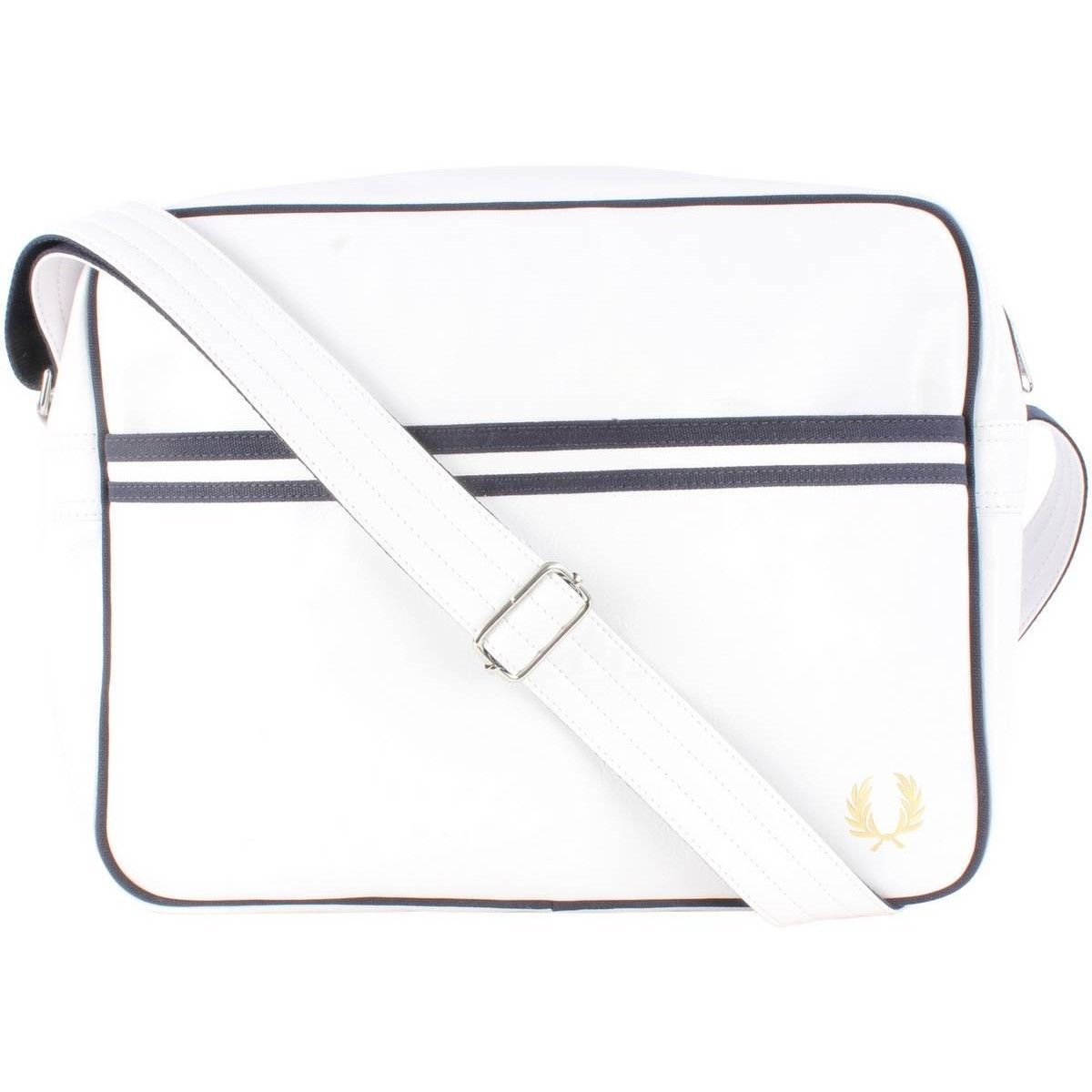 FRED PERRY Classic shoulder messenger bag Genuine - L5251-100 - White