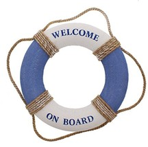Juvale Life Ring Welcome on Board - Life Ring Swim Tube Decoration Decor... - $14.92