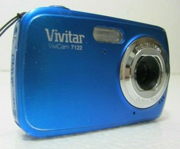 Vivitar Vivicam 7122 7.1MP Digital Camera - Blue - $14.99