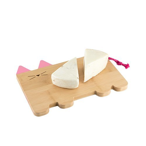 Bamboo Cutting Boards, Small Cat Serving Kitchen Cheese Bamboo Board