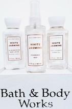 Bath & Body Works White Jasmine Body Cream, Body Spray & Bath Gel Travel... - $20.30