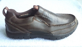 Men's Skecher's Relaxed Fit Slip on Shoes Brown / New - $37.39