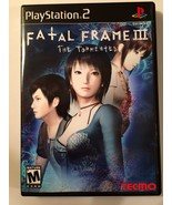 Fatal Frame III - Playstation 2 - Replacement Case - No Game - $7.91