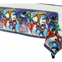 Justice League Table Cover 1 Per Package Birthday Party Supplies NEW - $7.87
