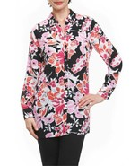 Foxcroft Women's Jade Blooming Floral Tunic Shirts - $63.48+