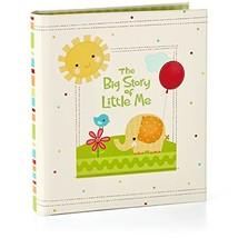 Hallmark The Big Story of Little Me Three-Ring Baby Book Scrapbooks Mile... - $46.63