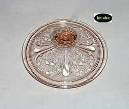 Cherry Blossom Pink Sugar Lid only Jeannette - $11.95