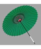 Japanese Festival Goods Dancing Umbrella silk / green - $140.99