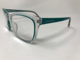"MICHAEL KORS ""Tessa"" Eyeglasses Frame M2904 408 55-20-135 Clear/Teal Gre... - $39.19"
