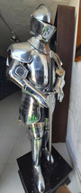 Medieval Knight Plate Armour Suit Battle Warrior Full Body Armour Suit L... - $692.01