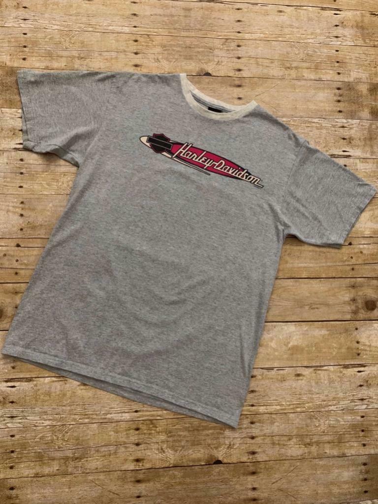 Harley Davidson Valley Harley Davidson Stockton California Made in USA Size L