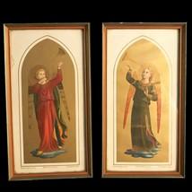 Pair of Trumpeting Angel Prints, Florentine - $65.62