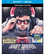 Baby Driver [SteelBook] [Include Digital HD ][Blu-ray] Best Buy Exclusiv... - $39.19