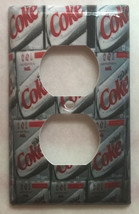 Diet Coke Coca cola Light Switch Outlet duplex Wall Cover Plate Home Decor image 2