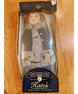 Vintage Kate's Doll 22 inch Porcelain  Original Box Nantucket - $44.50