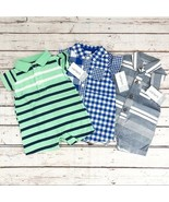 Set of 3 Carter's Baby Boy Romper One-Piece - New Born - $19.39