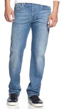 Armani Jeans Men's Straight-Fit Jeans, Light Wash ,0MJ82/2J,Size 30X32,M... - $89.09
