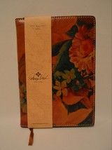 Patricia Nash Heritage Floral Leather Vinci Journal Diary Notebook Binder - $49.49