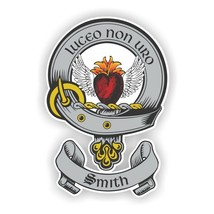Clan Smith Scottish Family Shield  Decal - $3.46+