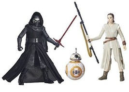 "Hasbro Star Wars ""The Black Series"" 2-Pack Set – Kylo Figurine with Rey ... - $18.70"