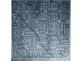 Creative Imaginations Alphabet 12x12 Inch Sheet image 1