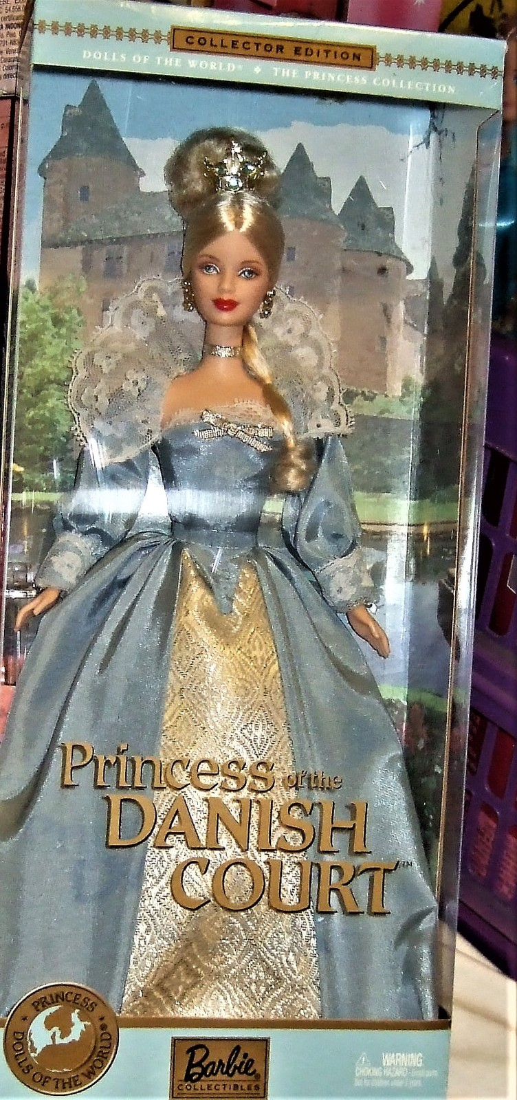 Barbie Dolls of the World Princess of the Danish Court Collector Edition 2002