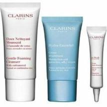 Clarins Skin Squad 3pcs Daily Essentials - $17.41