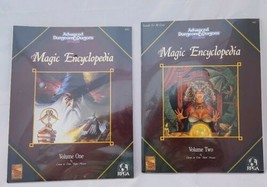 The Magic Encyclopedia Volumes One & Two SEALED 9293 9421 TSR Dungeons & Dragons - $122.73