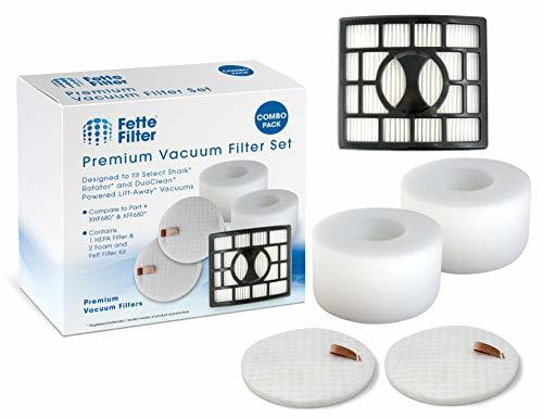 Fette Filter - Vacuum Filters Compatible with Shark Rotator Powered Lift-Away Sp