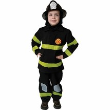 Deluxe Fire Fighter Set Fireman Child Halloween Costume Boys Size Small 203-S - $25.13